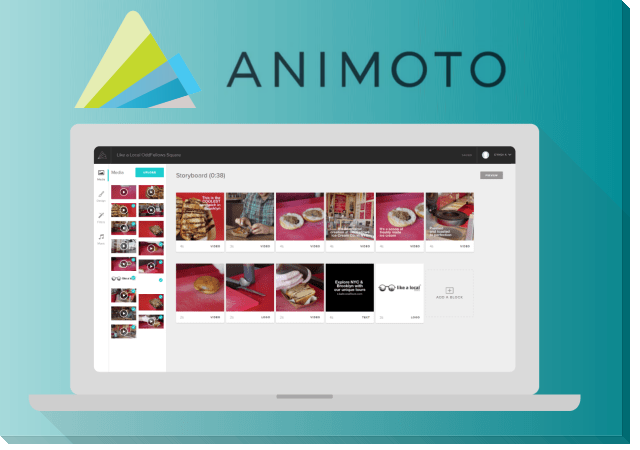 Animoto Video Editor for YouTube